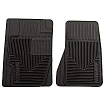 51121 Black Floor Mats, Front Row