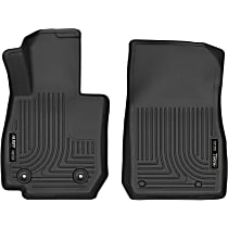 Black Floor Mats, Front Row