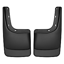 57591 Rear, Driver and Passenger Side Mud Flaps, Set of 2