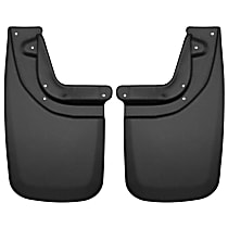 57931 Rear, Driver and Passenger Side Mud Flaps, Set of 2