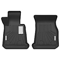 70051 Black Floor Mats, Front Row
