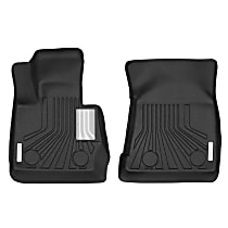 70061 Black Floor Mats, Front Row