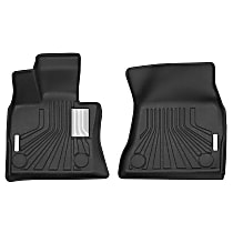 70071 Black Floor Mats, Front Row