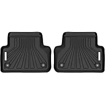 70271 Black Floor Mats, Second Row