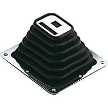 Hurst 1140010 Shift Boot - Black, Rubber, Universal, Sold individually