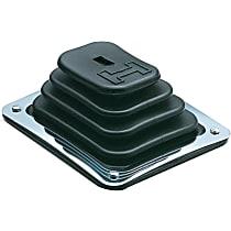 Hurst 1144580 Shift Boot - Black, Rubber, Universal, Sold individually