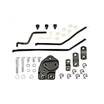 Hurst 3734734 Shifter Installation Kit - Natural, Steel, Direct Fit