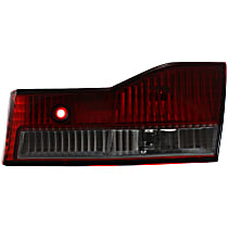 Passenger Side, Inner Tail Light, With bulb(s) - Clear & Red Lens, Sedan