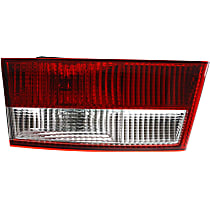 Sedan, Driver Side, Inner Tail Light, With bulb(s) - (Except Hybrid Model)