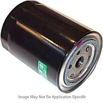 LF566 Oil Filter - Cartridge, Direct Fit, Sold individually