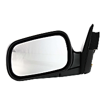 Mirror Manual Folding - Driver Side, Power Glass, Paintable