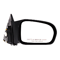 Mirror Non-folding - Passenger Side, Power Glass, Paintable