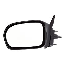 Mirror - Driver Side, Manual Remote, Textured Black, For US Built Coupe
