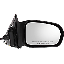 Mirror - Passenger Side, Manual Remote, Textured Black, For US Built Coupe