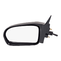 Mirror - Driver Side, Manual Remote, Paintable, For Sedan