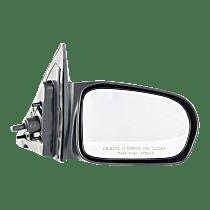 Mirror - Passenger Side, Manual Remote, Paintable, For Sedan