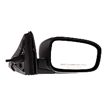 Mirror - Passenger Side, Folding, Paintable, For US Built Sedan