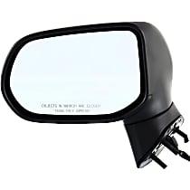 Mirror - Driver Side, Power, Folding, Textured Black, Us Or Japan Built Sedans