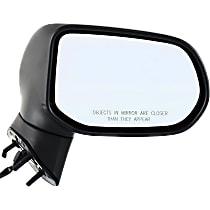 Mirror - Passenger Side, Power, Folding, Textured Black, Us Or Japan Built Sedans