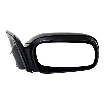 Mirror - Passenger Side, Power, Light Textured, For Coupe