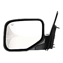 Mirror - Driver Side, Power, Heated, Paintable