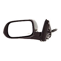 Mirror - Driver Side, Power, Heated, Folding, Paintable, With Turn Signal, For US Or Japan Built Sedan