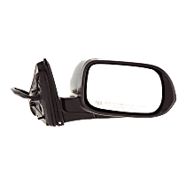 Mirror - Passenger Side, Power, Heated, Folding, Paintable, With Turn Signal, For US Or Japan Built Sedan