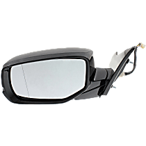 Mirror - Driver Side, Power, Folding, Heated, Folding, Paintable, With Turn Signal, For Sedan
