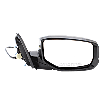 Mirror - Passenger Side, Power, Folding, Heated, Folding, Paintable, With Turn Signal and Lane Departure Camera, For Sedan