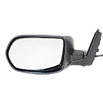 Mirror - Driver Side, Power, Heated, Textured Black