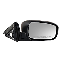 Mirror - Passenger Side, Power, Folding, Paintable, For Coupe