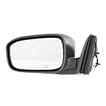 Mirror - Driver Side, Power, Heated, Folding, Paintable, For Coupe