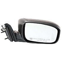 Mirror - Passenger Side, Power, Heated, Folding, Paintable, For Coupe