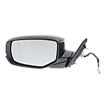 Mirror - Driver Side, Power, Folding, Heated, Folding, Paintable, With Turn Signal, For Coupe