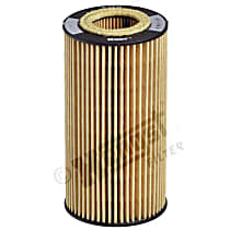 E27HD125 Oil Filter - Cartridge, Direct Fit, Sold individually