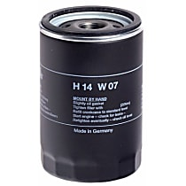 H14W07 Oil Filter - Spin-on, Direct Fit, Sold individually