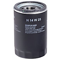 H14W25 Oil Filter - Spin-on, Direct Fit, Sold individually