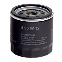 H90W12 Oil Filter - Spin-on, Direct Fit, Sold individually