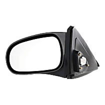 Mirror - Driver Side, Power, Light Textured, For Coupe or Hatchback