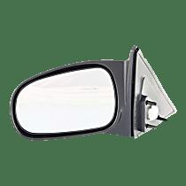 Mirror - Driver Side, Power, Textured Black, For Sedan