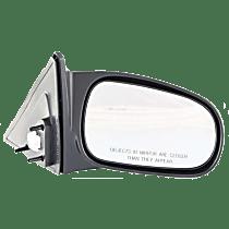 Mirror - Passenger Side, Power, Textured Black, For Sedan