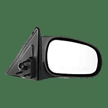 Mirror - Passenger Side, Manual Remote, Textured Black, For Sedan