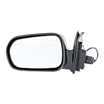 Mirror - Driver Side, Power, Paintable, For Sedan