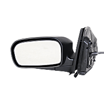 Mirror Manual Folding - Driver Side, Power Glass, Textured Black