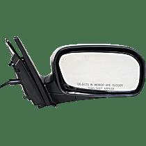 Mirror Manual Folding - Passenger Side, Power Glass, Textured Black