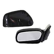 Mirror - Driver Side, Power, Heated, Light Textured, For Coupe