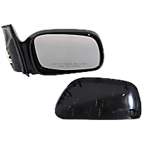 Mirror - Passenger Side, Power, Heated, Light Textured, For Coupe