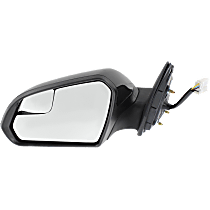 Mirror - Driver Side, Power, Heated, Paintable, With Blind Spot Function