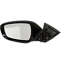 Mirror - Driver Side, Power, Heated, Paintable, With Turn Signal, Models With Panoramic Roof and Side Repeaters