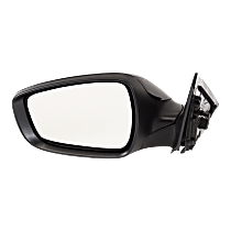 Mirror - Driver Side, Power, Heated, Paintable, Models With Panoramic Roof and Without Side Repeaters
